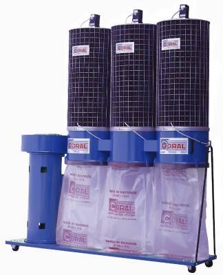 Portable chip extractor Coral CA1C, CA2C, CA3C