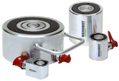 Lågbyggda cylindrar Rehobot Hydraulics CL50 och CLF2000
