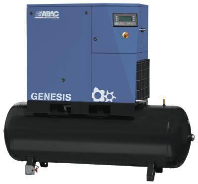 Ruuvikompressori ABAC Genesis kuivaimella