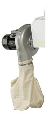 Extractor for belt sander Luna