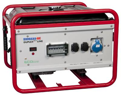 Petrol driven generator Endress Petrol-line, Duplex Professional