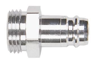 Nipplar för kran eller rör med invändig gänga