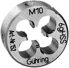 Gängsnitt, M-grov Gühring 151 / 152