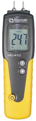 Moisture content meter for wood Exotek MC-410