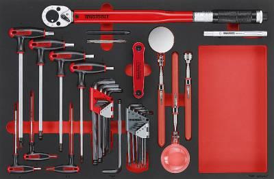 17 pc EVA Hex key and inspection set. Teng Tools TTEX17