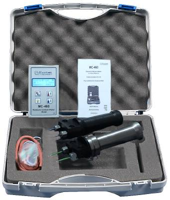Moisture ratio meter for wood Exotek MC-460B / MC-460S-40