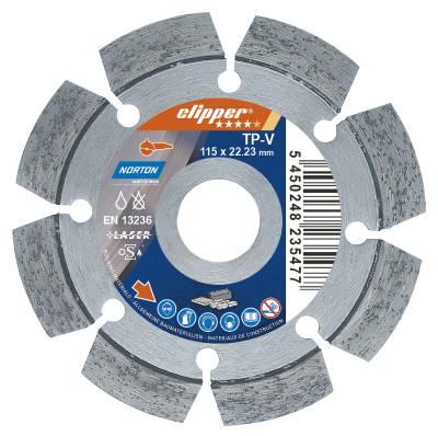 Diamond cut-off blade Norton Clipper Crack