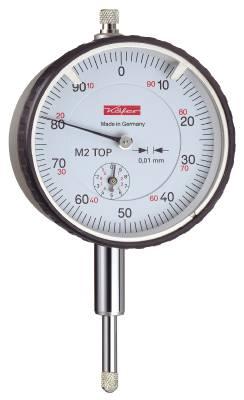 Dial gauge 0.01/10 Käfer