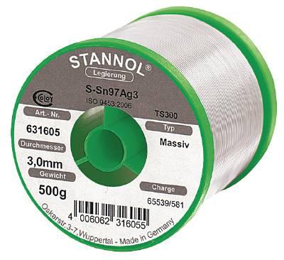 Silvermjuklod Stannol för kapillärlödning