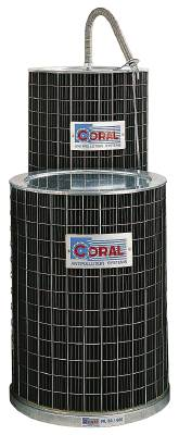 Extractor filters for dust extractors Coral FIL 450/1000 FIL 500/1000