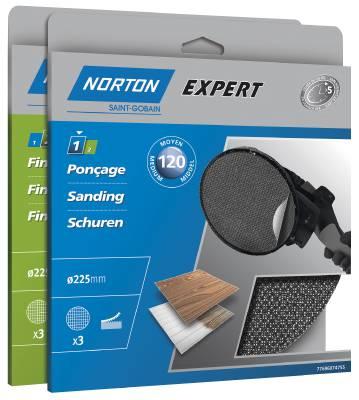 Grit screen discs Norton Screen-bak
