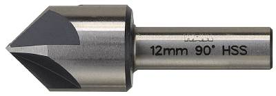 Countersink - for metal 8/12/16/20 mm