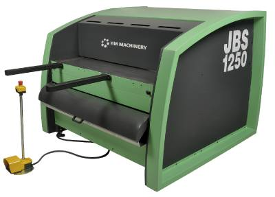 Machine power shears cutting length 1275 to 2025 mm HM JBS 1250/3 - JBS 2000/3
