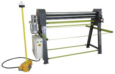 Bending rolls – motor-driven HM TTE