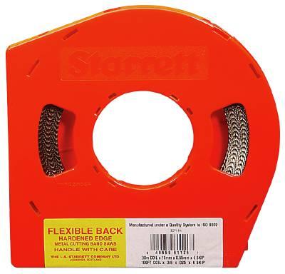 Bandsaw blade for metal in rolls Starrett Super Flexback 3867
