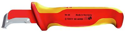 Cable knife 1000-volt. Knipex 9855