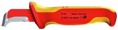 Kabelkniv 1000-volt. Knipex 9855