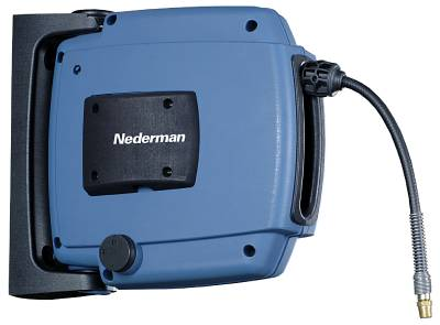 Hose reel for ceiling or wall mounting Nederman H-20-6 / H30-10