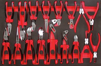 17 pc  Plier set Teng Tools TTEMB17