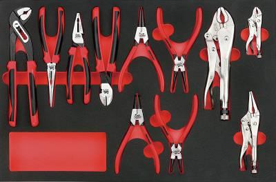 11 pc Plier set. Teng Tools TTEMB11