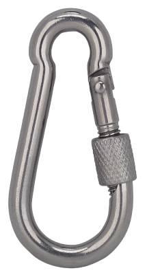 Karabinkrok syrefast med hurtiglås for verktøysikring