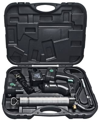 Grease gun battery powered Hallbauer