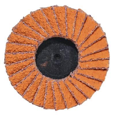 Mini flap discs Norton TR Roloc 50, 75 mm