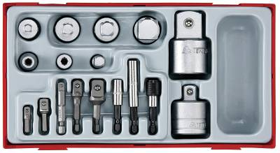 17 pc Adaptor set Teng Tools TTADP17