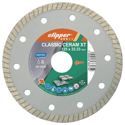 Diamond cut-off blade Norton Clipper Ceram