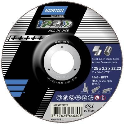 Cut-off wheel Norton 1-2-3