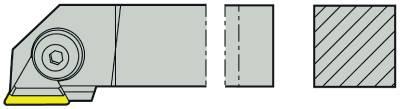 Skärhållare 90°, yttersvarvhållare Seco CTGPR