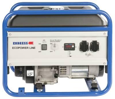 Elverk bensindrivna Endress Petrol-line, Standard