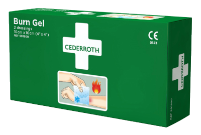 Brännskadekompress Cederroth Burn Gel