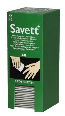 Sårtvättare Cederroth Savett