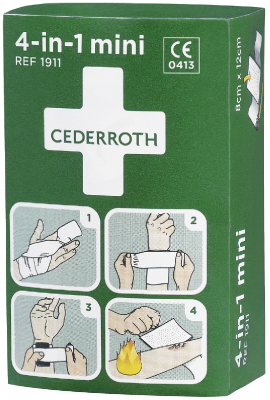 Ensiapuside pieni 4-in-1 mini Cederroth