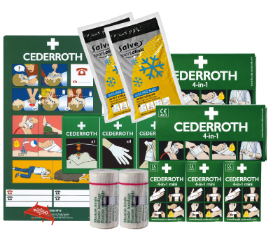 Refill kit for 1st aid cabinet Cederroth