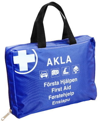 Førstehjelpspute First Aid Kit Flex inkl. varselvest