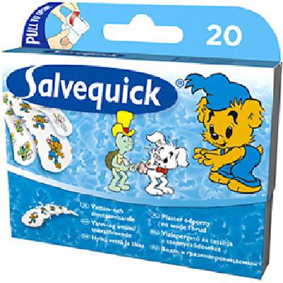 Plaster Salvequick Bamse