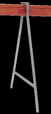 Vägbock 1 bräda FZV och Avstängningsbräda med reflex