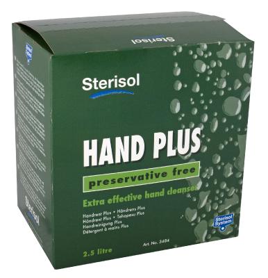 Käsienpuhdistus Sterisol Plus 3484