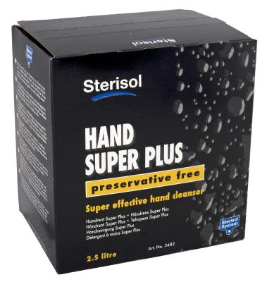 Käsien puhdistusaine Sterisol Super Plus 3482, 4488