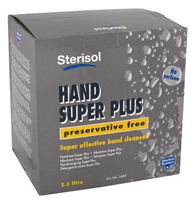 Käsien puhdistusaine Sterisol Super Plus 3483, hajusteeton