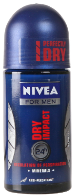 Deodorant Nivea Dry Impact Roll-On For Men