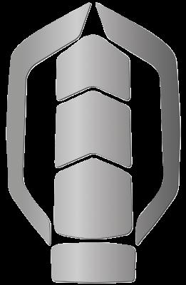 Heijastin Kask Zenith WAC00014 Silver