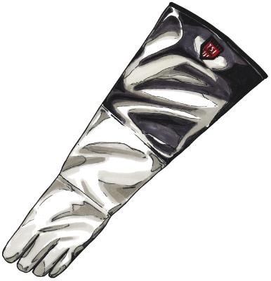 Aluminiserade Handskar TST