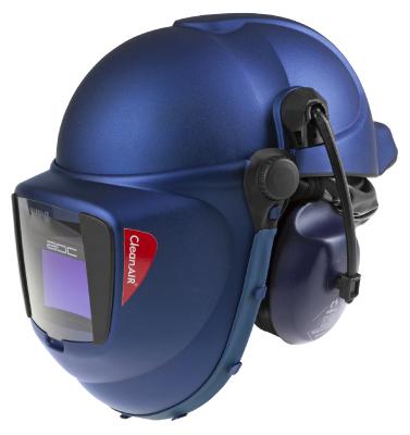 Suojakypärä CleanAIR® CA-40 hitsausmaskilla
