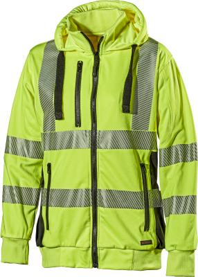 Zip-tröja L.Brador 419P-W Hivis