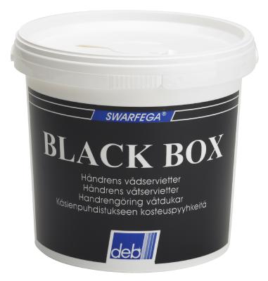 Rengjøringsserviett Deb Black Box