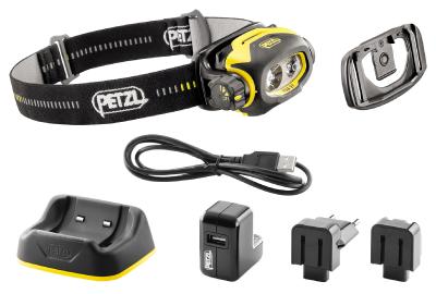 Otsalamppu Petzl Pixa 3R ATEX LED ladattava