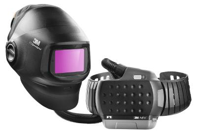 Hitsausmaski 3M Speedglas G5-01, hitsauskasetti G5-01VC + puhallinyksikkö 3M Adflo